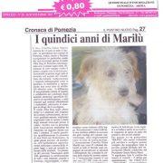 15 anni di Marilù