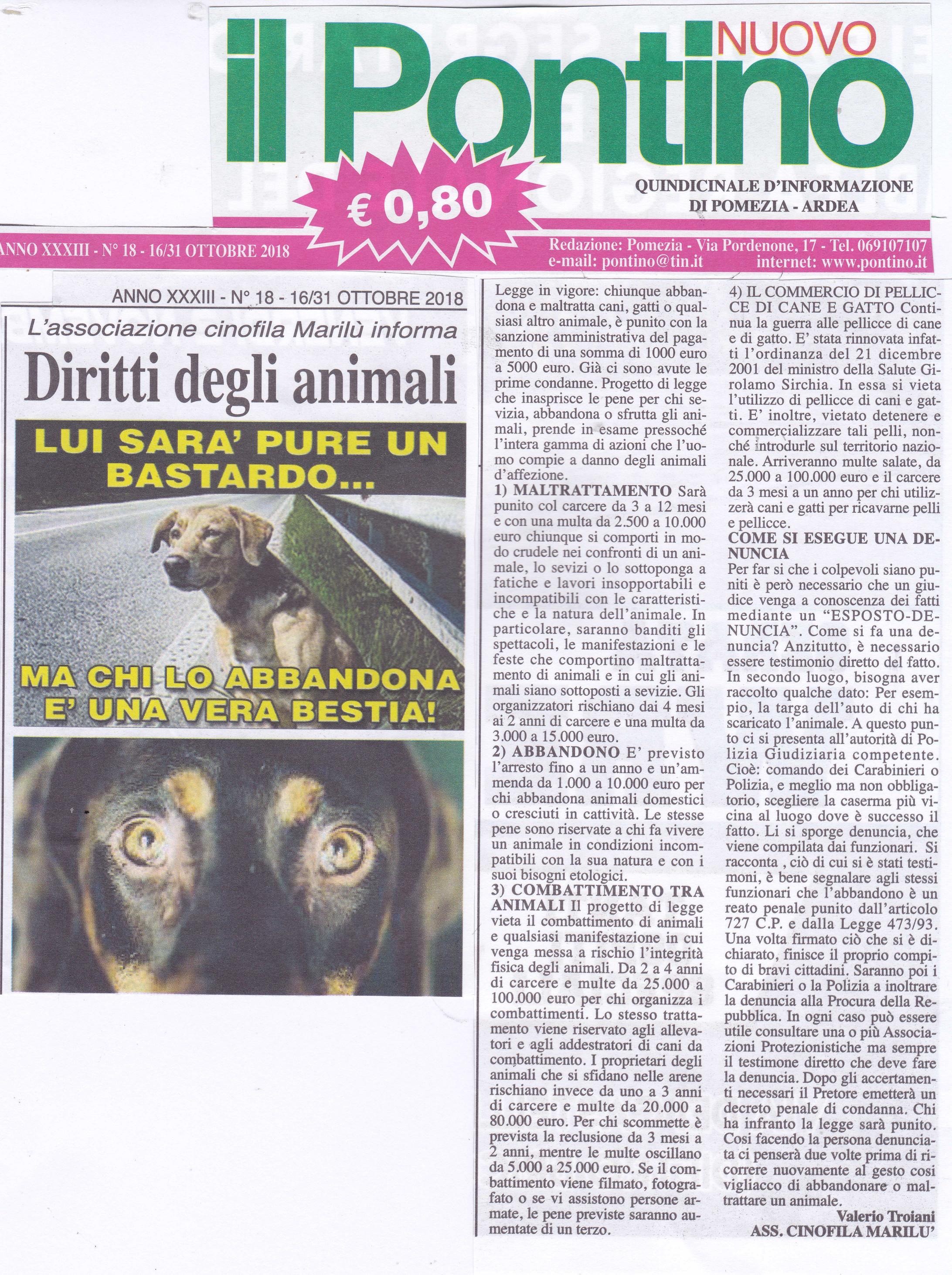 Diritti degli animali di Valerio Troiani